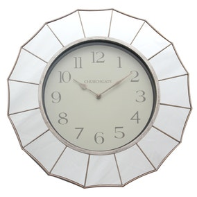 Mirrored Edge Clock
