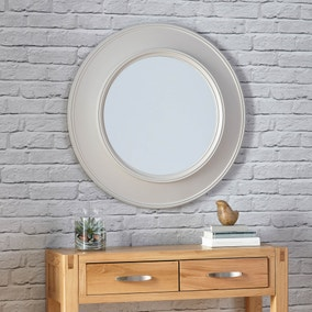 Grantham Cream Mirror