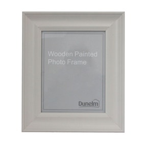 Grey Painted Wooden Frame
