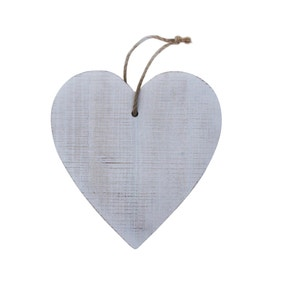 Wooden Heart on Rope