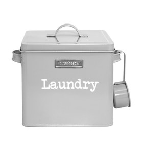 Housekeepers Grey Laundry Box