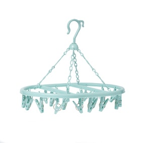 Candy Rose Blue Peg Hanger
