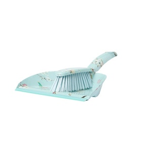 Beautiful Birds Dustpan and Brush