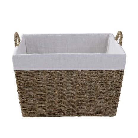 dark wicker baskets hampers baskets wicker storage baskets dunelm