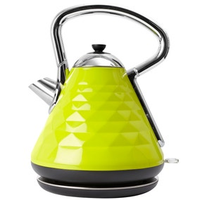 Elements 1.7L Green Pyramid Kettle