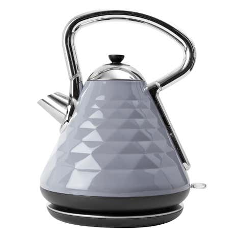 Elements 1.7L Grey Pyramid Kettle