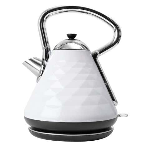 Elements 1.7L White Pyramid Kettle