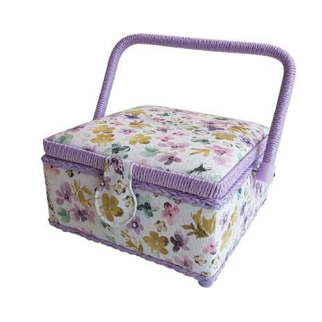 Secret Garden Small Sewing Box  sc 1 st  Dunelm & Secret Garden Small Sewing Box   Dunelm Aboutintivar.Com