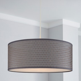 Bailey Grey Pendant Shade