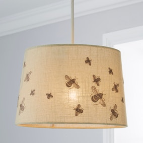 Bumble Embroidered Light Shade