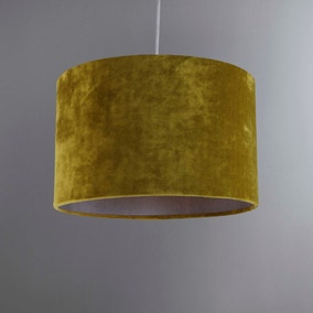 Gracen Green Velvet Large Light Shade