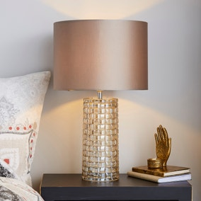Highgate Champagne Table Lamp