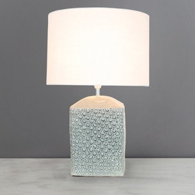 Hyde Grey Table Lamp
