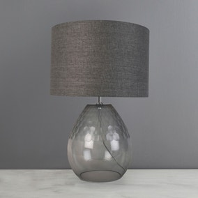 Jasmine Faceted Glass Table Lamp