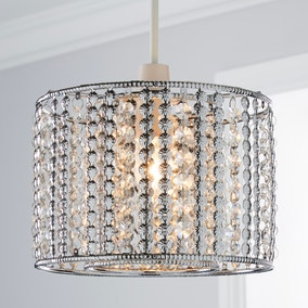 Monica Chrome Light Pendant
