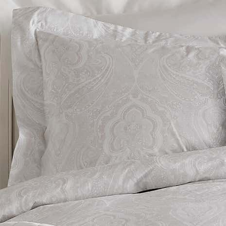 Holly Willoughby Paisley Natural Pillowcase Pair