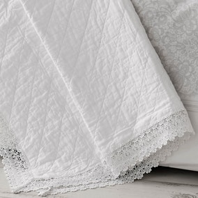 Holly Willoughby Henrietta White Throw