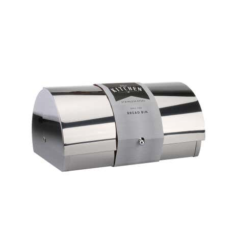 Polished Stainless Steel Bread Bin
