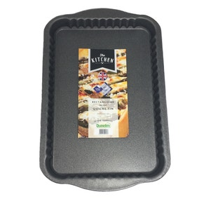 Dunelm Rectangular Quiche Tin