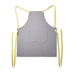 Elements Smock Apron Grey Yellow