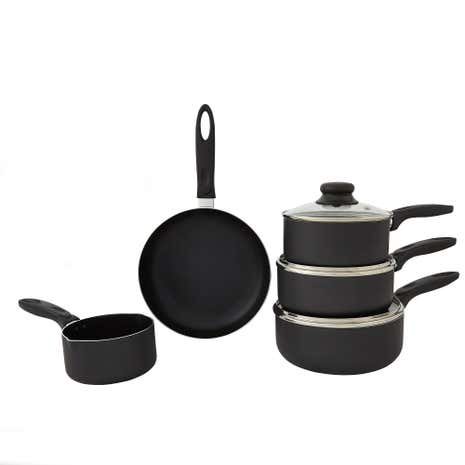 Essentials 5 Piece Pan Set Aluminum