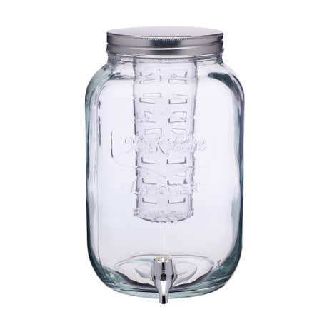 7.5L Drinks Dispenser with Glass Infuser