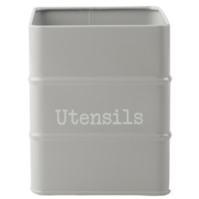 Housekeeper Grey Utensil Jar