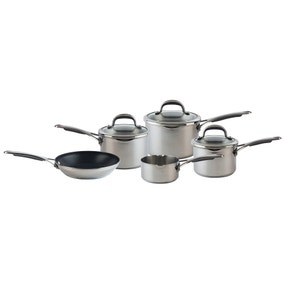 Meyer Stainless Steel 5 Piece Pan Set