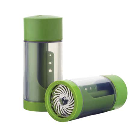 Microplane 2 in 1 Green Herb Mill
