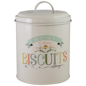 Pastel Kitchen Biscuit Tin