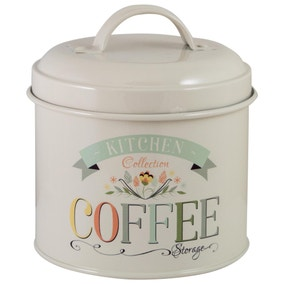 Pastel Kitchen Coffee Tin