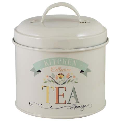 Pastel Kitchen Tea Tin