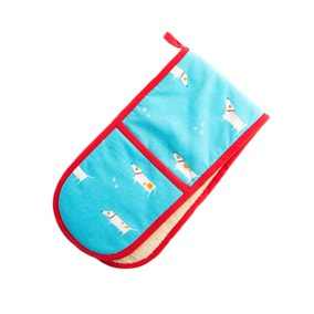 Dexam Patch The Dog Double Oven Glove