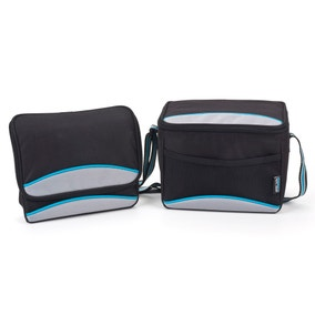 Polar Gear 5 Litre Personal Black Lunch Bag
