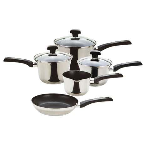 Prestige Dura Steel 5 Piece Pan Set