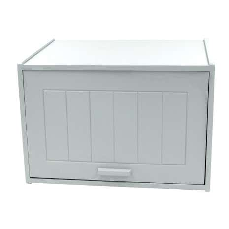 Chrome Bread Bin Home Safe