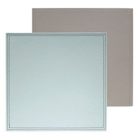 Country Heart Pack of 4 Faux Leather Placemats