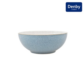 Denby Elements Blue Coupe Bowl