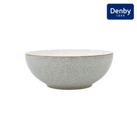 Denby Elements Grey Coupe Bowl
