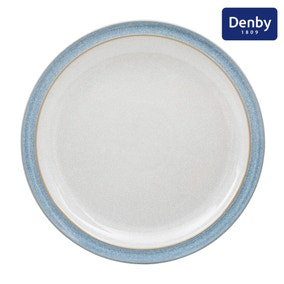 Denby Elements Blue Dinner Plate Blue