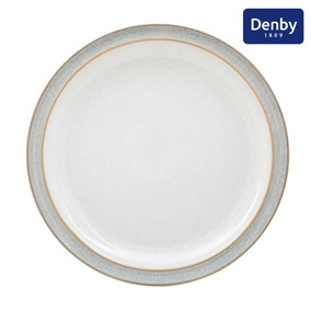 Denby Elements Grey Dinner Plate