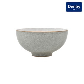 Denby Elements Grey Rice Bowl