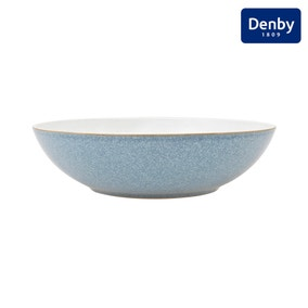 Denby Elements Blue Serving Bowl