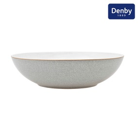 Denby Elements Grey Serving Bowl