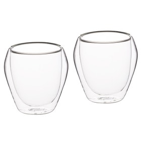 Le 'Xpress 250ml Double Walled Set of 2 Glasses