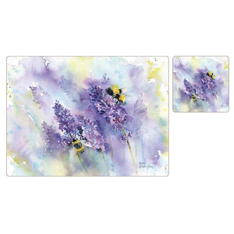 Lavender Pack of 8 Placemats and Coasters