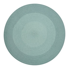 Ombre Round Woven Pack of 2 Placemats