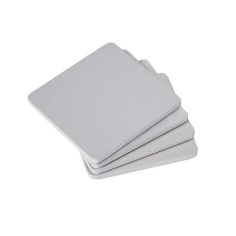 Pack of 4 Grey Wood Coasters