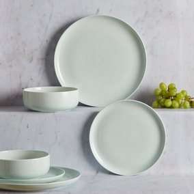 Pure 12 Piece Mint Dinner Set