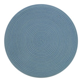 Waves Round Pack of 2 Woven Placemats